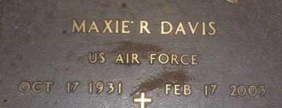 DAVIS, MAXIE R. - Sarasota County, Florida | MAXIE R. DAVIS - Florida Gravestone Photos