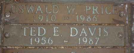 DAVIS, TED E. - Sarasota County, Florida | TED E. DAVIS - Florida Gravestone Photos