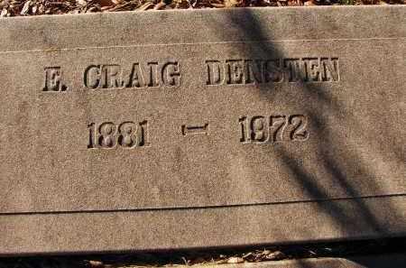 DENSTEN, E. CRAIG - Sarasota County, Florida | E. CRAIG DENSTEN - Florida Gravestone Photos