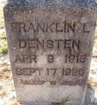 DENSTEN, FRANKLIN L. - Sarasota County, Florida | FRANKLIN L. DENSTEN - Florida Gravestone Photos