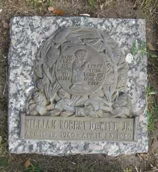 DEWITT, JR, WILLIAM ROBERT - Sarasota County, Florida | WILLIAM ROBERT DEWITT, JR - Florida Gravestone Photos