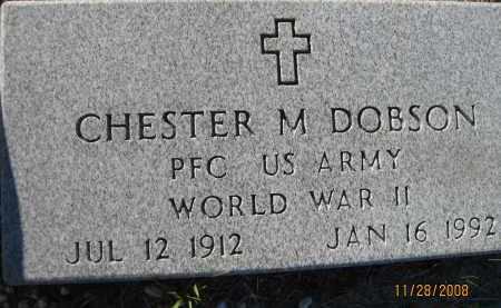 DOBSON (VETERAN WWII), CHESTER M (NEW) - Sarasota County, Florida | CHESTER M (NEW) DOBSON (VETERAN WWII) - Florida Gravestone Photos