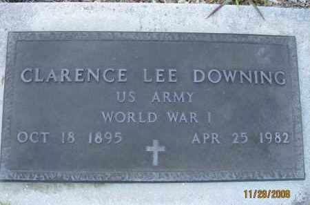 DOWNING (VETERAN WWI), CLARENCE LEE (NEW) - Sarasota County, Florida | CLARENCE LEE (NEW) DOWNING (VETERAN WWI) - Florida Gravestone Photos