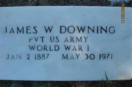 DOWNING (VETERAN WWI), JAMES W (NEW) - Sarasota County, Florida | JAMES W (NEW) DOWNING (VETERAN WWI) - Florida Gravestone Photos