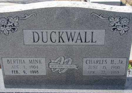 DUCKWALL, BERTHA - Sarasota County, Florida | BERTHA DUCKWALL - Florida Gravestone Photos