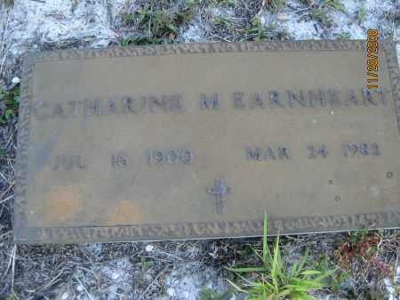 EARNHEART, CATHERINE M - Sarasota County, Florida | CATHERINE M EARNHEART - Florida Gravestone Photos