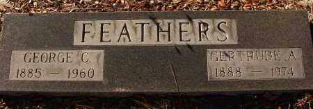 FEATHERS, GERTRUDE A. - Sarasota County, Florida | GERTRUDE A. FEATHERS - Florida Gravestone Photos