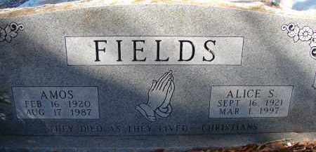 FIELDS, ALICE S. - Sarasota County, Florida | ALICE S. FIELDS - Florida Gravestone Photos