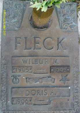 FLECK, WILBUR M. - Sarasota County, Florida   WILBUR M. FLECK - Florida Gravestone Photos