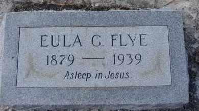 FLYE, EULA G. - Sarasota County, Florida | EULA G. FLYE - Florida Gravestone Photos