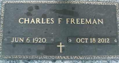 FREEMAN, CHARLES F. - Sarasota County, Florida | CHARLES F. FREEMAN - Florida Gravestone Photos
