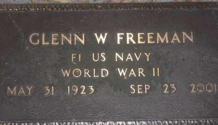 FREEMAN, GLENN W - Sarasota County, Florida | GLENN W FREEMAN - Florida Gravestone Photos