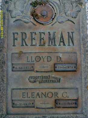 FREEMAN, LLOYD D. - Sarasota County, Florida | LLOYD D. FREEMAN - Florida Gravestone Photos
