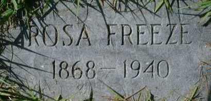 FREEZE, ROSA - Sarasota County, Florida | ROSA FREEZE - Florida Gravestone Photos