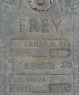 FREY, ERNEST W. - Sarasota County, Florida | ERNEST W. FREY - Florida Gravestone Photos