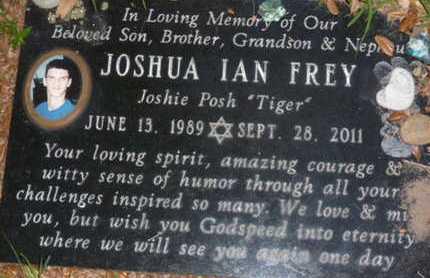 FREY, JOSHUA IAN - Sarasota County, Florida | JOSHUA IAN FREY - Florida Gravestone Photos