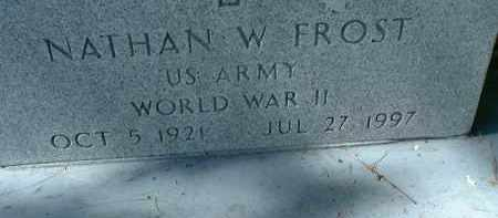 FROST (VETERAN WWII), NATHAN W. - Sarasota County, Florida | NATHAN W. FROST (VETERAN WWII) - Florida Gravestone Photos
