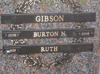 GIBSON, BURTON N. - Sarasota County, Florida | BURTON N. GIBSON - Florida Gravestone Photos