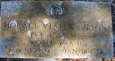 GIBSON (VETERAN WWII), HORACE VESTER - Sarasota County, Florida   HORACE VESTER GIBSON (VETERAN WWII) - Florida Gravestone Photos