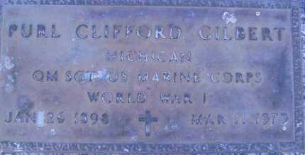 GILBERT, PURL CLIFFORD - Sarasota County, Florida | PURL CLIFFORD GILBERT - Florida Gravestone Photos