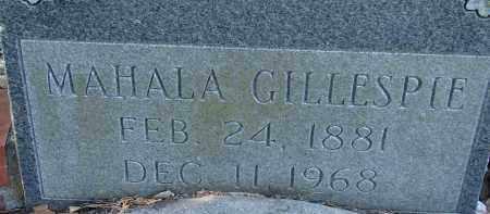 GILLESPIE, MAHALA - Sarasota County, Florida   MAHALA GILLESPIE - Florida Gravestone Photos