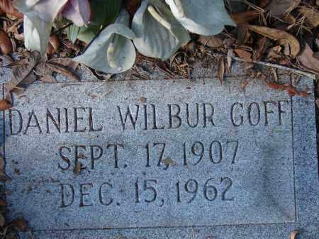 GOFF, DANIEL WILBUR - Sarasota County, Florida   DANIEL WILBUR GOFF - Florida Gravestone Photos