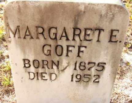 HARRISON GOFF, MARGARET ELLEN - Sarasota County, Florida | MARGARET ELLEN HARRISON GOFF - Florida Gravestone Photos