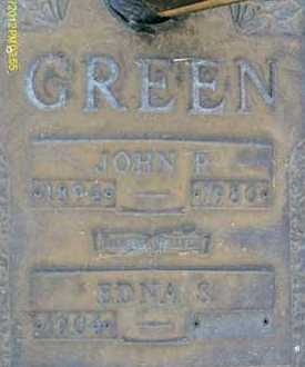 GREEN, EDNA S. - Sarasota County, Florida | EDNA S. GREEN - Florida Gravestone Photos