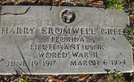 GREEN (VETERAN WWII), HARRY CROMWELL (NEW) - Sarasota County, Florida | HARRY CROMWELL (NEW) GREEN (VETERAN WWII) - Florida Gravestone Photos