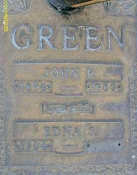 GREEN, JOHN P. - Sarasota County, Florida | JOHN P. GREEN - Florida Gravestone Photos