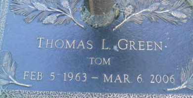 GREEN, THOMAS L. - Sarasota County, Florida | THOMAS L. GREEN - Florida Gravestone Photos