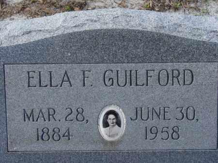 GUILFORD, ELLA F. - Sarasota County, Florida | ELLA F. GUILFORD - Florida Gravestone Photos