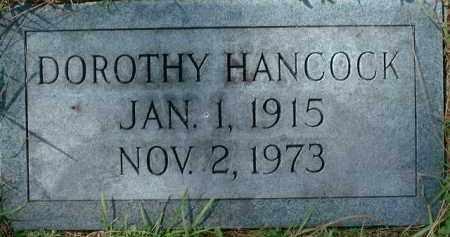 HANCOCK, DOROTHY - Sarasota County, Florida | DOROTHY HANCOCK - Florida Gravestone Photos