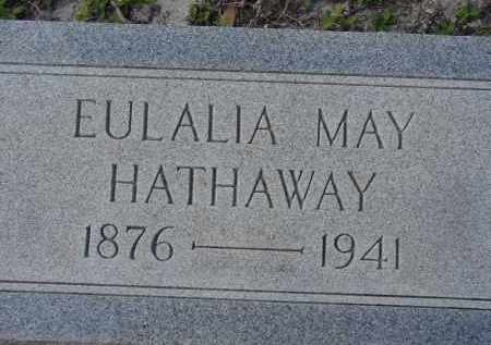 HATHAWAY, EULALIA MAY - Sarasota County, Florida | EULALIA MAY HATHAWAY - Florida Gravestone Photos