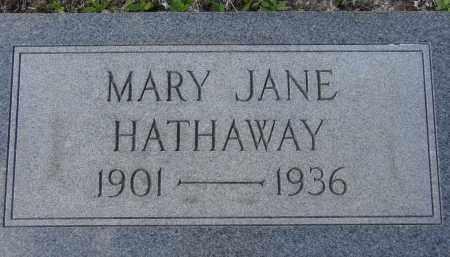 HATHAWAY, MARY JANE - Sarasota County, Florida | MARY JANE HATHAWAY - Florida Gravestone Photos