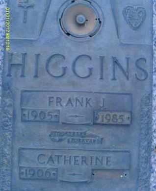 HIGGINS, CATHERINE - Sarasota County, Florida   CATHERINE HIGGINS - Florida Gravestone Photos