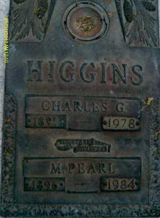 HIGGINS, M. PEARL - Sarasota County, Florida | M. PEARL HIGGINS - Florida Gravestone Photos