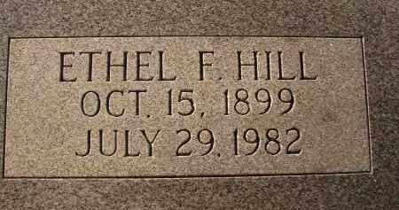 HILL, ETHEL F. - Sarasota County, Florida   ETHEL F. HILL - Florida Gravestone Photos