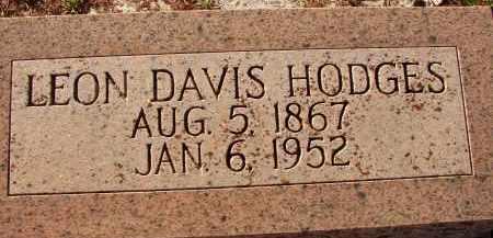 HODGES, LEON DAVIS - Sarasota County, Florida   LEON DAVIS HODGES - Florida Gravestone Photos