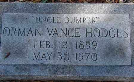 HODGES, ORMAN VANCE - Sarasota County, Florida | ORMAN VANCE HODGES - Florida Gravestone Photos