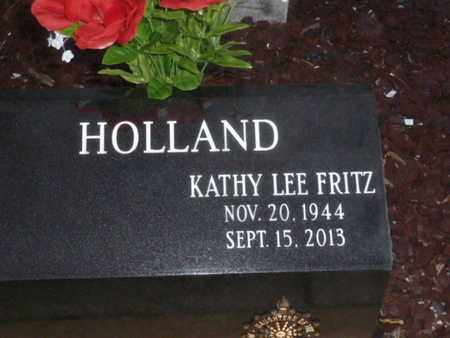 HOLLAND, KATHY LEE FRITZ - Sarasota County, Florida | KATHY LEE FRITZ HOLLAND - Florida Gravestone Photos