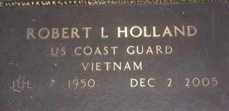 HOLLAND, ROBERT L. - Sarasota County, Florida | ROBERT L. HOLLAND - Florida Gravestone Photos