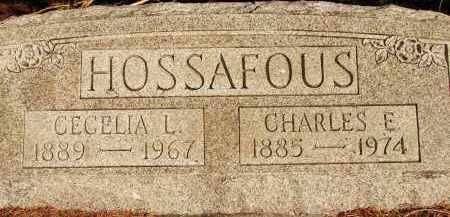 HOSSAFOUS, CECELIA L. - Sarasota County, Florida | CECELIA L. HOSSAFOUS - Florida Gravestone Photos