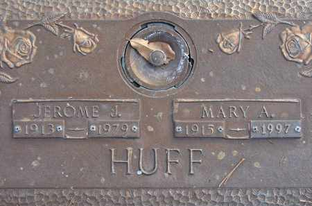 HUFF, MARY A. - Sarasota County, Florida | MARY A. HUFF - Florida Gravestone Photos