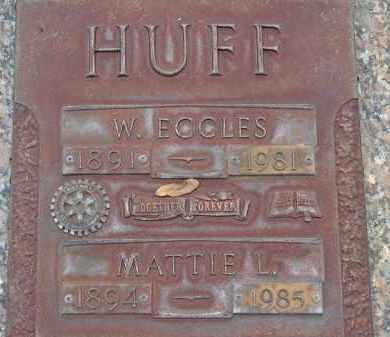 HUFF, MATTIE LUCILLE - Sarasota County, Florida   MATTIE LUCILLE HUFF - Florida Gravestone Photos