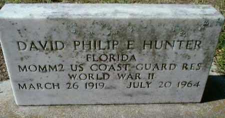 HUNTER (VETERAN WWII), DAVID PHILIP EMERY - Sarasota County, Florida | DAVID PHILIP EMERY HUNTER (VETERAN WWII) - Florida Gravestone Photos