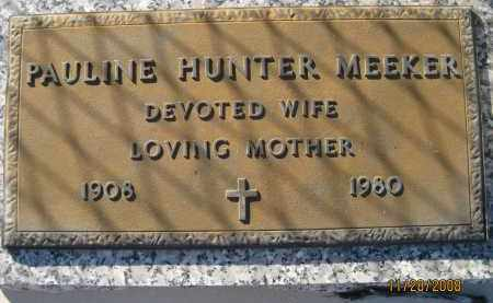 HUNTER, PAULINE - Sarasota County, Florida | PAULINE HUNTER - Florida Gravestone Photos