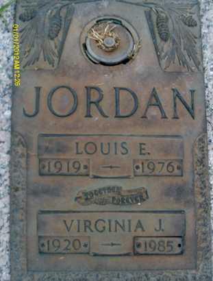 JORDAN, LOUIS E. - Sarasota County, Florida | LOUIS E. JORDAN - Florida Gravestone Photos