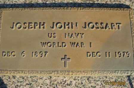 JOSSART (VETERAN WWI), JOSEPH JOHN (NEW) - Sarasota County, Florida | JOSEPH JOHN (NEW) JOSSART (VETERAN WWI) - Florida Gravestone Photos