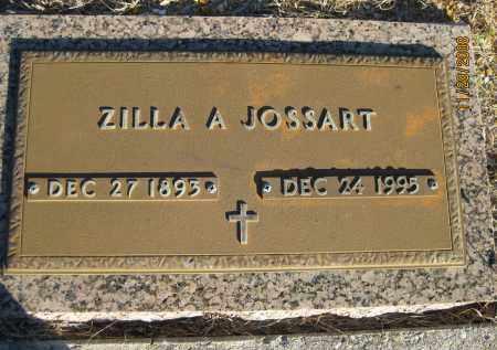 JOSSART, ZILLA A - Sarasota County, Florida | ZILLA A JOSSART - Florida Gravestone Photos